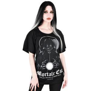 tričko KILLSTAR Mortale Relaxed černá XS