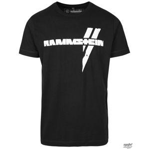 Tričko metal RAMMSTEIN Rammstein Balken černá