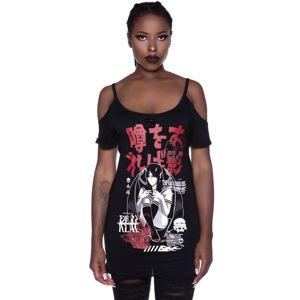 tričko dámské KILLSTAR - Rumour Distress - KSRA002585 S
