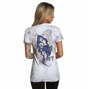 tričko hardcore SULLEN ANGEL INK černá M