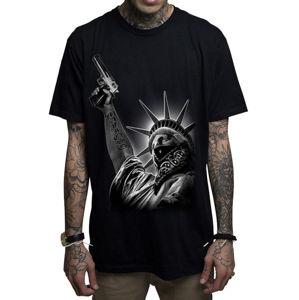 tričko hardcore MAFIOSO STICK UP černá M
