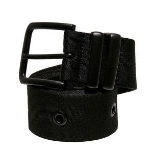 pásek URBAN CLASSICS - Eyelet - black - TB4182 S/M