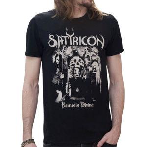 Tričko metal NNM Satyricon Nemesis Reduced černá XXL