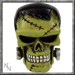 dekorace -hlavice řadící páky- Frankinsteins Monster Gear - U0480B4
