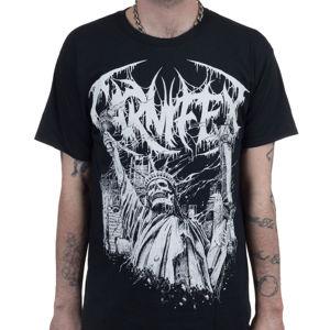 Tričko metal INDIEMERCH Carnifex Liberty černá