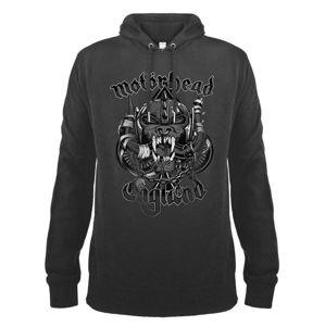 mikina s kapucí AMPLIFIED Motörhead Snaggletooth černá S