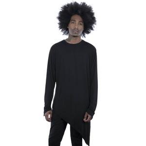 tričko KILLSTAR Azazel Asymmetrical černá S