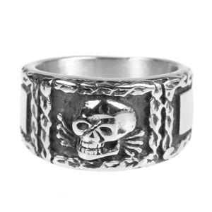 prsten ETNOX - Signet Skull - SR1422
