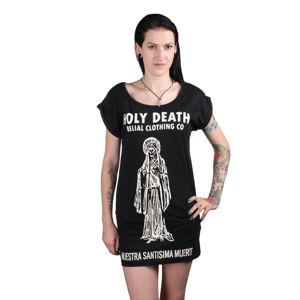 tričko BELIAL Holy death černá