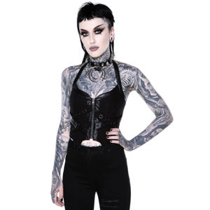 korzet KILLSTAR Cadaver Zip Top L