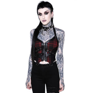 korzet KILLSTAR Cadaver Zip Top S
