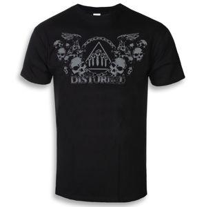 tričko metal ROCK OFF Disturbed Beware The Vultures černá XXL