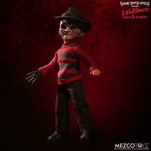 figurka filmová LIVING DEAD DOLLS A Nightmare on Elm Street Talking Freddy Krueger