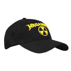 kšiltovka Megadeth - Hazard Logo - ROCK OFF - MEGACAP02B