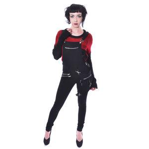 kalhoty gothic VIXXSIN ISABELLA DUNGAREES