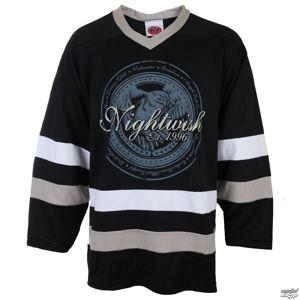 tričko metal Just Say Rock Nightwish OWL- LOGO 96 BLK/WHT černá L