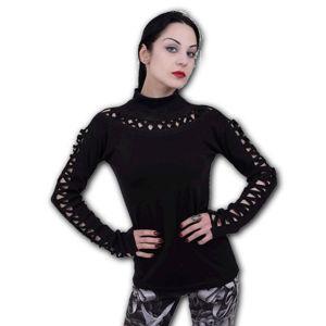 tričko SPIRAL GOTHIC ELEGANCE černá L
