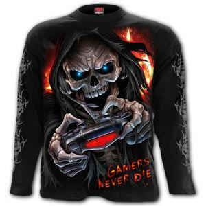 tričko SPIRAL RESPAWN černá M