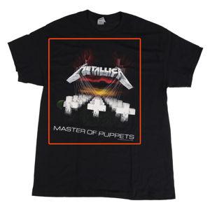 tričko pánské Metallica - Master Of Puppets - RTMTLTSBTOU - POŠKOZENÉ - MA505 L
