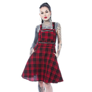 šaty HEARTLESS MAUDE PINAFORE