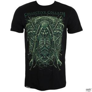 tričko COLLECTIVE COLLAPSE InSect černá