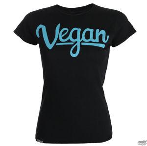 tričko COLLECTIVE COLLAPSE Vegan Letters černá S