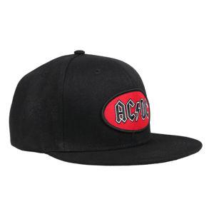 kšiltovka AC/DC - Oval Logo BL - ROCK OFF - ACDCSBCAP02B