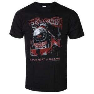 tričko metal LOW FREQUENCY Aerosmith Train kept a going černá S