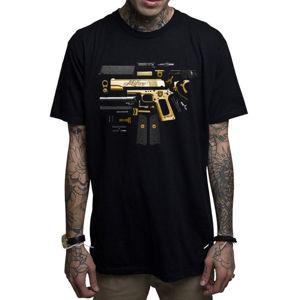tričko hardcore MAFIOSO Assembly černá