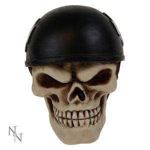dekorace (hlavice řadící páky) Skull Racer Gear Knob - U0481B4