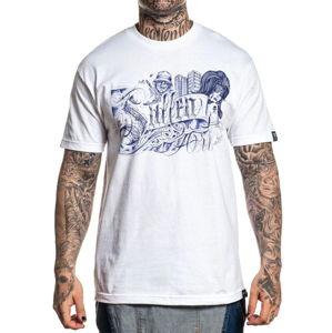 tričko pánské SULLEN - ALESTRA - WHITE - SCM2894_WH L