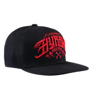 kšiltovka HYRAW - CASQUETTE - HOSTILE RED - CAP-HOSTILE-RD
