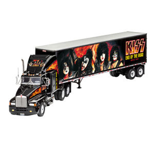 figurka skupiny NNM Kiss Model Kit 1/32 Tour Truck