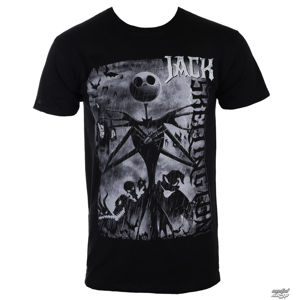 tričko pánské THE NIGHTMARE BEFORE CHRISTMAS – SKELLINGTON - BILNBC00033 S